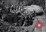 Image of US troops excavating for a dugout Picardy France, 1918, second 5 stock footage video 65675027494