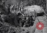 Image of US troops excavating for a dugout Picardy France, 1918, second 6 stock footage video 65675027494