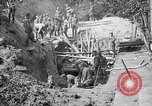Image of US troops excavating for a dugout Picardy France, 1918, second 7 stock footage video 65675027494