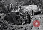 Image of US troops excavating for a dugout Picardy France, 1918, second 8 stock footage video 65675027494