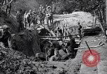 Image of US troops excavating for a dugout Picardy France, 1918, second 9 stock footage video 65675027494