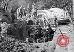 Image of US troops excavating for a dugout Picardy France, 1918, second 11 stock footage video 65675027494