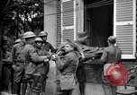 Image of Wounded American soldiers on stretchers Cantigny France, 1918, second 10 stock footage video 65675027497