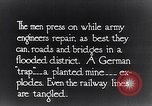 Image of British engineers attempt repairs France, 1916, second 7 stock footage video 65675027503