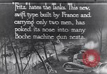 Image of Renault FT-17 Light Tank France, 1918, second 2 stock footage video 65675027506