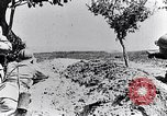 Image of French soldiers observe German shells exploding France, 1916, second 4 stock footage video 65675027509