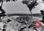 Image of French soldiers observe German shells exploding France, 1916, second 5 stock footage video 65675027509