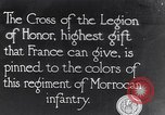 Image of President Poincaré presenting awards to soldiers World War I France, 1916, second 1 stock footage video 65675027516