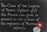 Image of President Poincaré presenting awards to soldiers World War I France, 1916, second 2 stock footage video 65675027516
