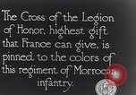 Image of President Poincaré presenting awards to soldiers World War I France, 1916, second 4 stock footage video 65675027516