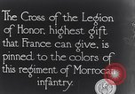 Image of President Poincaré presenting awards to soldiers World War I France, 1916, second 9 stock footage video 65675027516