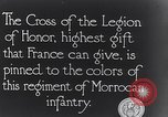 Image of President Poincaré presenting awards to soldiers World War I France, 1916, second 10 stock footage video 65675027516