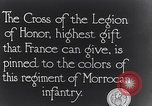 Image of President Poincaré presenting awards to soldiers World War I France, 1916, second 11 stock footage video 65675027516