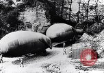 Image of French soldiers move Observation balloons along a road France, 1917, second 4 stock footage video 65675027517