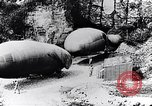 Image of French soldiers move Observation balloons along a road France, 1917, second 5 stock footage video 65675027517