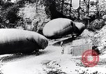 Image of French soldiers move Observation balloons along a road France, 1917, second 6 stock footage video 65675027517