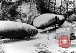 Image of French soldiers move Observation balloons along a road France, 1917, second 7 stock footage video 65675027517