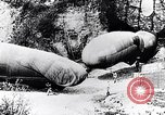 Image of French soldiers move Observation balloons along a road France, 1917, second 10 stock footage video 65675027517