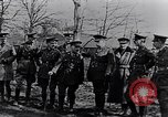 Image of Cadre of British officers France, 1917, second 3 stock footage video 65675027524