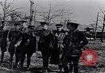 Image of Cadre of British officers France, 1917, second 6 stock footage video 65675027524