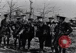 Image of Cadre of British officers France, 1917, second 7 stock footage video 65675027524
