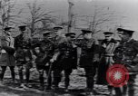 Image of Cadre of British officers France, 1917, second 8 stock footage video 65675027524