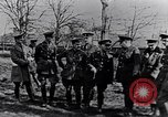 Image of Cadre of British officers France, 1917, second 9 stock footage video 65675027524
