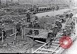 Image of British soldiers move ammunition by small gauge railroad Flanders, 1916, second 12 stock footage video 65675027527