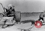 Image of British artillery firing France, 1916, second 2 stock footage video 65675027530