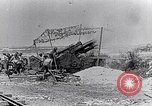 Image of British artillery firing France, 1916, second 5 stock footage video 65675027530