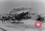 Image of British artillery firing France, 1916, second 6 stock footage video 65675027530