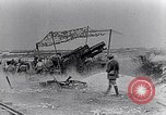 Image of British artillery firing France, 1916, second 9 stock footage video 65675027530