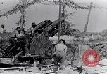 Image of British artillery firing France, 1916, second 10 stock footage video 65675027530