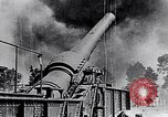 Image of French fire 370mm railway howitzer France, 1917, second 2 stock footage video 65675027532