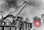Image of French fire 370mm railway howitzer France, 1917, second 3 stock footage video 65675027532