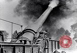 Image of French fire 370mm railway howitzer France, 1917, second 5 stock footage video 65675027532