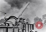 Image of French fire 370mm railway howitzer France, 1917, second 6 stock footage video 65675027532