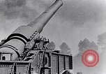 Image of French fire 370mm railway howitzer France, 1917, second 7 stock footage video 65675027532