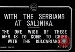Image of Serbian Generals review Serbian soldiers World War I Salonica Greece, 1917, second 1 stock footage video 65675027538