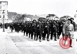 Image of Chasseurs Alpins marching in World War 1 France, 1917, second 8 stock footage video 65675027542