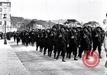 Image of Chasseurs Alpins marching in World War 1 France, 1917, second 9 stock footage video 65675027542