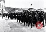 Image of Chasseurs Alpins marching in World War 1 France, 1917, second 10 stock footage video 65675027542