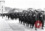 Image of Chasseurs Alpins marching in World War 1 France, 1917, second 11 stock footage video 65675027542