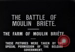 Image of French and British infantry in Battle of Moulin Briete World War I Belgium, 1916, second 2 stock footage video 65675027544