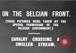 Image of rafts made of poles and canvas bags Belgium, 1915, second 2 stock footage video 65675027547
