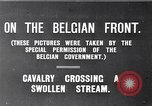 Image of rafts made of poles and canvas bags Belgium, 1915, second 3 stock footage video 65675027547