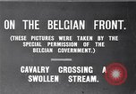 Image of rafts made of poles and canvas bags Belgium, 1915, second 4 stock footage video 65675027547