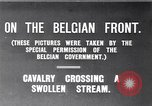 Image of rafts made of poles and canvas bags Belgium, 1915, second 5 stock footage video 65675027547