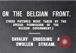 Image of rafts made of poles and canvas bags Belgium, 1915, second 7 stock footage video 65675027547