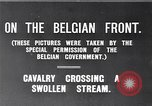 Image of rafts made of poles and canvas bags Belgium, 1915, second 8 stock footage video 65675027547